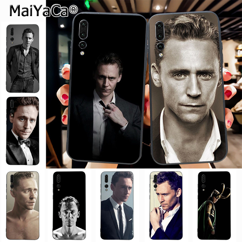Maiyaca Tom Hiddleston Hot Sale Fashion Luxury cover phone Case for Huawei P20 P20 pro Mate10 P10 Plus Honor9 cass(China)
