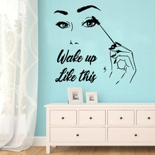Beauty beauty salon Home Decor Vinyl Wall Stickers For Kids Rooms Decoration Sticker Mural