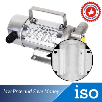 12V 150W Stainless Steel Fuel Oil Pump 70L/min Probal Electric Pumping Pump