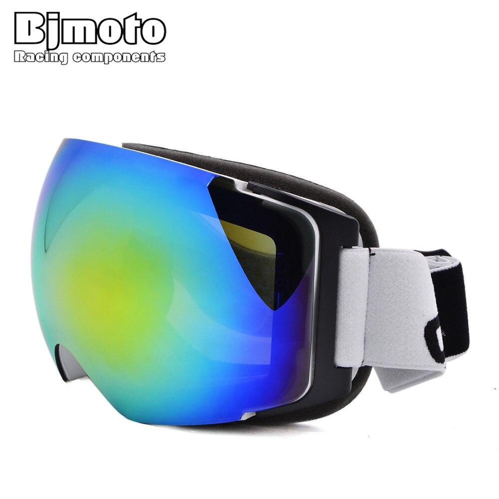 Mg-025 лыжные очки, зимние виды спорта сноуборд, анти-туман УФ-защита для Для мужчин Для женщин молодежи снегоход Лыжный Спорт катание маска