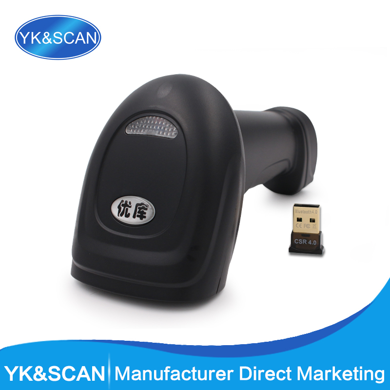 Bluetooth Wireless Barcode Scanner YK MB High Quality D laser scanner Holder