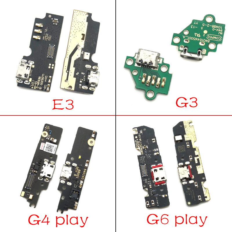 USB Charging Port Dock Charger Plug Connector Board Flex Cable For Motorola Moto M E3 E4 E4T E5 G3 G4 G5 G6 P30 Play Plus X4 image