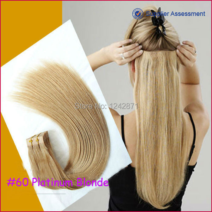 Queen Hair Products Invisible Skin Weft Skin Tape Hair
