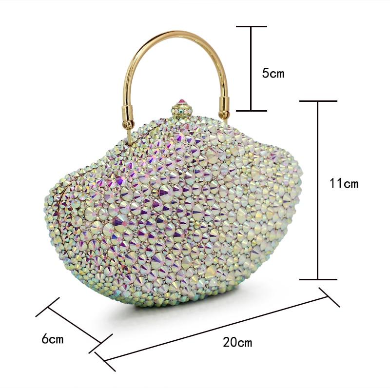 Evening Popular Dinner 1015rw Crystal Bags Sparkly Women 2017 Luxury Clutch Purse Ladies Clutches White HTxd6qHwE