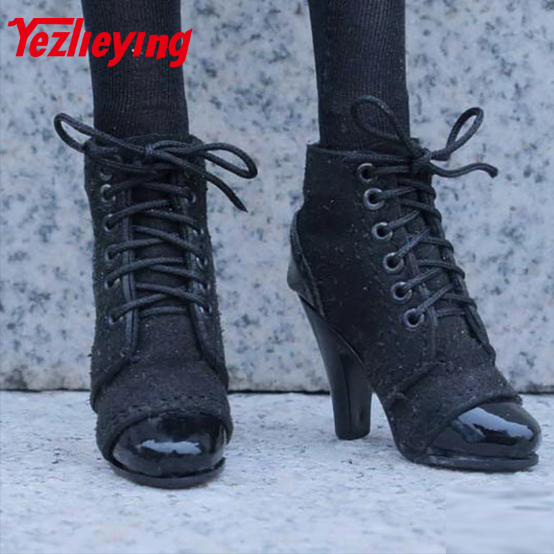 1/6 scale <font><b>figures</b></font> <font><b>Sexy</b></font> Clothes Accessories Lace Up Shoes high heels boots For 12