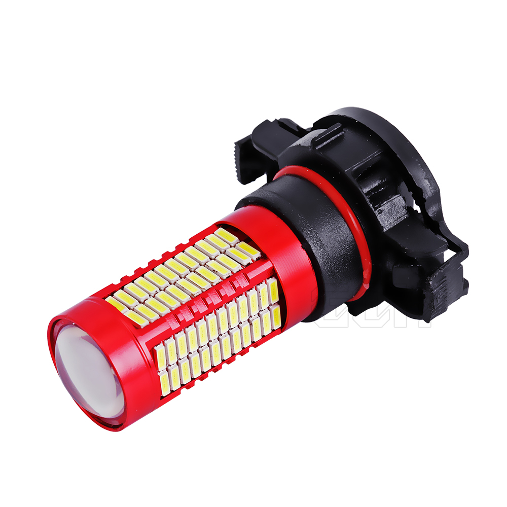2pcs H11 H7 H4 H16 led 106SMD 4014 LED fog Lamp led Fog light LED Car - Car Lights - Photo 2