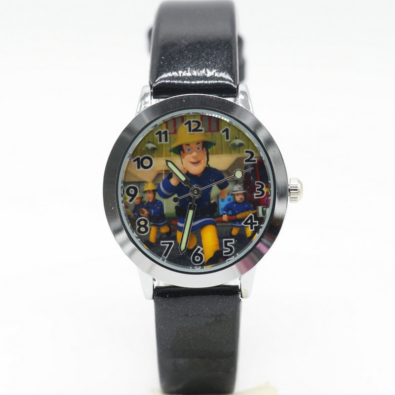 New Fashion Fireman Sam Watches Children Kids Boys Gift Watch Casual Quartz Wristwatch Relogio Relojes