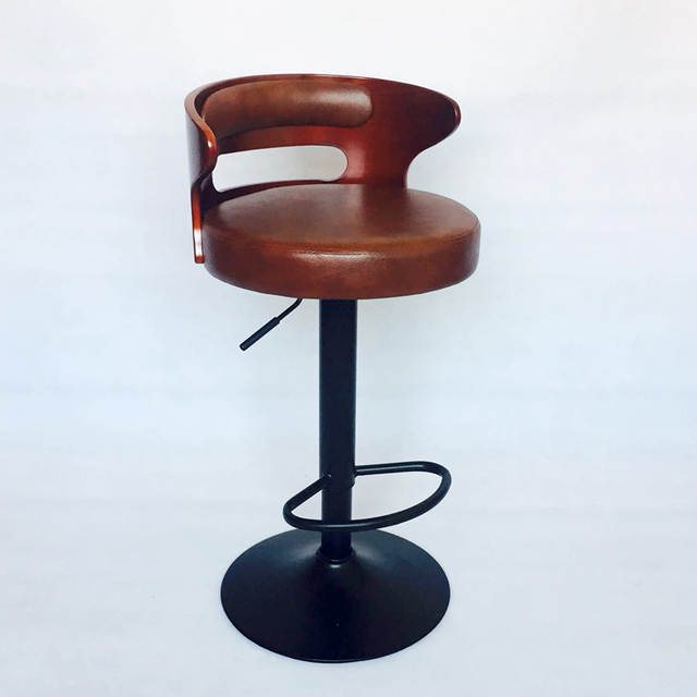 Surprising Us 175 75 5 Off Modern Retro Bar Stairs Stretch Bar Stools Solid Wooden Counter Front Desk Coffee Chair Household Dining Chair In Bar Stools From Pdpeps Interior Chair Design Pdpepsorg