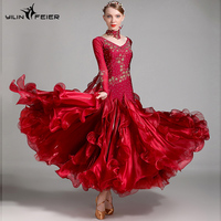 sexy standard ballroom dress women competition standard dance dress for dance ballroom rumba dresses tango waltz dance costumes