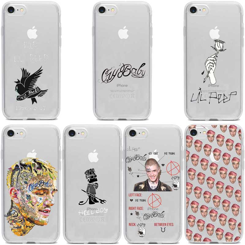 Emo <font><b>Lil</b></font> Bo <font><b>Peep</b></font> <font><b>Peep</b></font> <font><b>Lil</b></font> Soft Silicone TPU Phone Cover for iPhone11 11PRO MAX <font><b>8</b></font> 7 6 Plus 6S X XS MAX XR 5 5S SE image