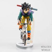 23cm High Quality Dragon Ball Model Collection Black Hair Son Goku Action Figure Young Son Goku
