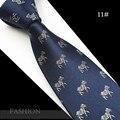 2016 Novos 1200 Agulhas Qualidade Mens Gravatas De Seda Gravata Gravata Laços de Natal Animal Clássico Laço Do Casamento Para Os Homens de Negócios de Moda