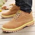 2016 Nuevos zapatos de Gamuza Hombres Zapatos Casuales Marca Ocio Zapatos Hombres Mocasines Moda Casual Hombres Zapatos Zapatos Al Aire Libre de Viaje