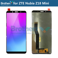 For ZTE Nubia Z18 Mini LCD Display Touch Screen Digitizer for ZTE Z18 Mini LCD Assembly LCD Screen Phone Replacement Tested Work