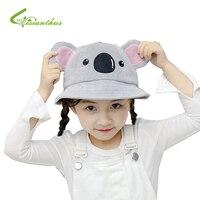e242e835 Aliexpress.com : Buy Fashion Children Hats Baby Hats For Girls Bucket Hat  Koala Boys Cap Children Sun Summer Cap Kids Solid Beach Panama Caps from  Reliable ...