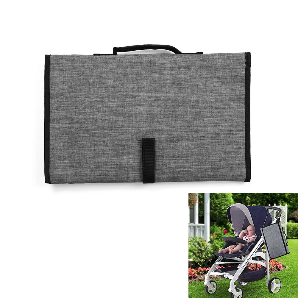 Portable Waterproof Baby Diaper Mat Nappy Changing Pad Travel Station Stroller Hangs Supplies 88 S7JN