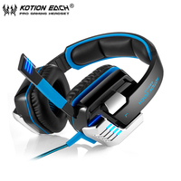 Best Computer Stereo Gaming Headset Kotion EACH G8000 Casque Deep Bass Game Earphone Headphone With Mic