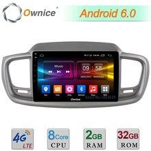 """C500 + 10.1 """"Android 6.0 Octa Core 2 GB RAM 32 GB ROM 4G LTE WIFI DAB + Radio Del Coche DVD Multimedia Player Para Kia Sorento 2015 2016"""