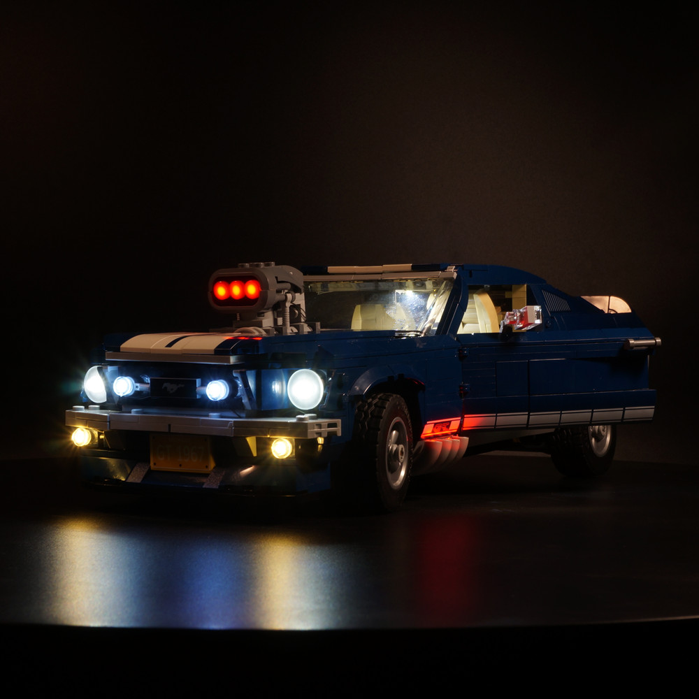 Complete version of Led Light kit for lego 10265 more reality design available not include car