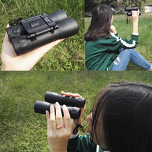 Cheap price 12×32 Binoculars Full-Coated Blue Optics Telescopes for Bird Watching Telescope professional binoculars
