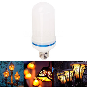 Image 5 - B22 E27 E26 E14 E12 LED Flame Bulb 85 265V LED Flame Effect Fire Light Bulb Flickering Emulation Decor LED Lamp 3W 5W 7W 9W