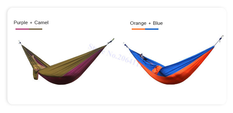 ropes 2 outdoor double hammock portable parachute cloth 2 person hamaca      rh   aliexpress