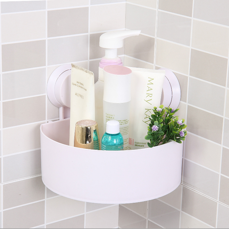 High Quality Cute Bathroom Corner Storage Rack Organizer Shower Wall ...