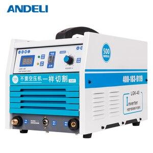Image 2 - ANDELI 지능형 휴대가 용이함 내장형 공기 펌프 플라즈마 절단기 CUT 40Y 압축기가있는 플라즈마 커터