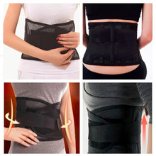 2016 Quality Waist Support Waist Protection Thin Breathable Mesh Lumbar Support Steel Plate Protection Belt for Sports Safety