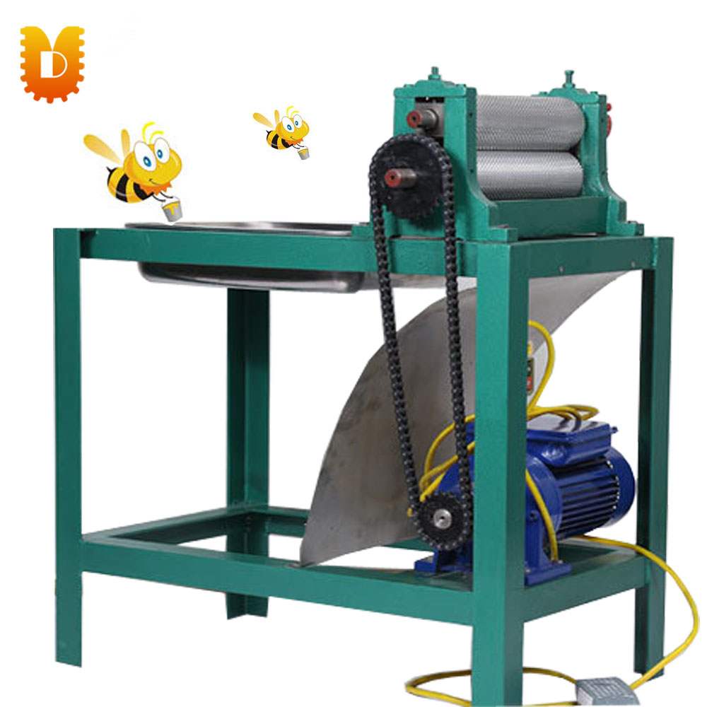 195mm Electric With Frame Beeswax Foundation Sheet Machine ...