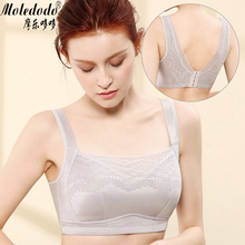 цены Fake Breast Forms Bra Mastectomy Bra 90C Gray Lace Pocket Bra for Silicone Breast Prosthesis Cancer Women Artificial Boobs D3