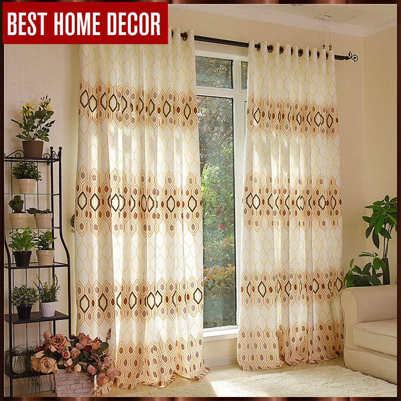 buy best home decor finished window blackout curtains