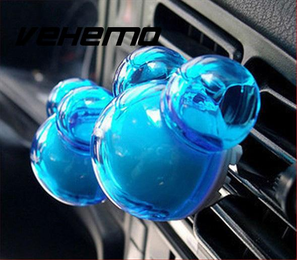Sweet-Tempered Vehemo Car Stying Vent Clip Air Freshener Purifier Perfume Fragrance Essential Oil Aroma Diffuser Gift Interior Accessories Automobiles & Motorcycles Interior Accessories