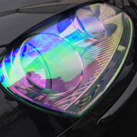 Chameleon Headlight Film Taillight 0.3X10M/ 12''x33'Car Chameleon lamp film