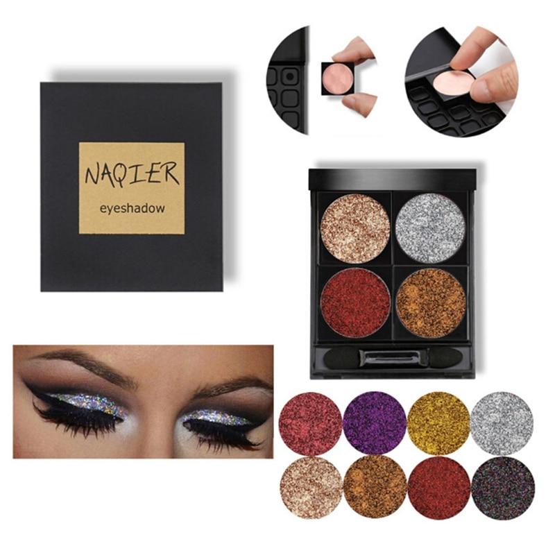 Matte Eye Shadow Palette Smoked Eyeshadow Glitter Shadows Nude Cosmetics