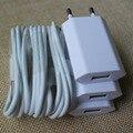 3 Kit x Top Qualidade Traval Plugue DA UE Carregador de Parede Adaptador + branco 30pin data sync carregamento cord cabo carregador para iphone 4 4s 3GS