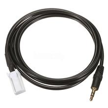 1.5m AUX Input Audio Cable Male Black 3.5mm Female AUX Audio Cables Suitable For Suzuki Grand Vitara SX4