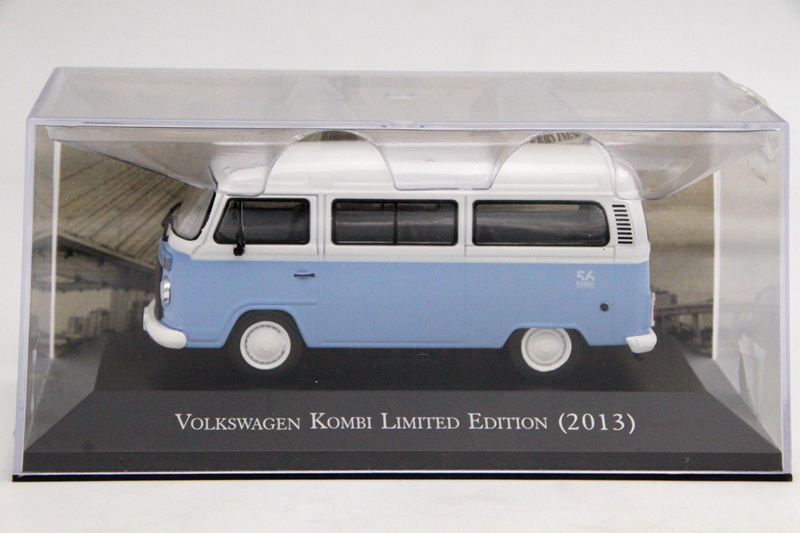 IXO Altaya 1:43 Scale VW Kombi Limited Edition 2013 Toys Car Diecast Models Limited Edition Collection Auto дефлекторы окон novline autofamily toyota land cruiser 200 lexus lx570 2007