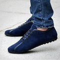 Spring Summer New Style Male Loafers Man Genuine Leather Flats Fashion Cow Leather Business Casual Shoes