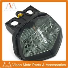 Мотоцикл Задние Стоп сигналы Интегрированного LED лампа дым свет для NINJA250 Ninja 250 ниндзя 250R 08 09 10 11 12