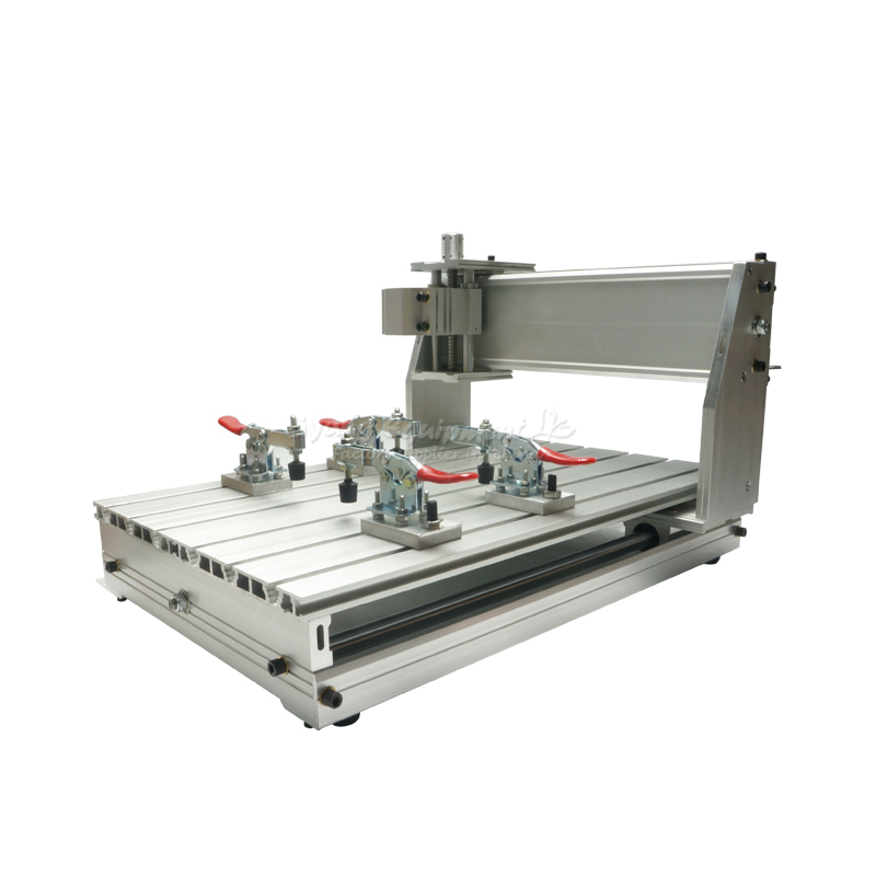 3040 CNC milling machine part frame aluminum alloy ball screw cnc router wood milling machine cnc 3040z vfd800w 3axis usb for wood working with ball screw