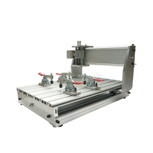 3040 CNC milling machine part frame aluminum alloy ball screw cnc frame kit 3040 z ball screw cnc router frame