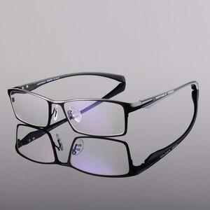 Image 3 - Toptical Fashion Glasses Frame Myopia Men Optical Eyeglasses Frame Commercial Eye Glasses Alloy Acetate Eyewear