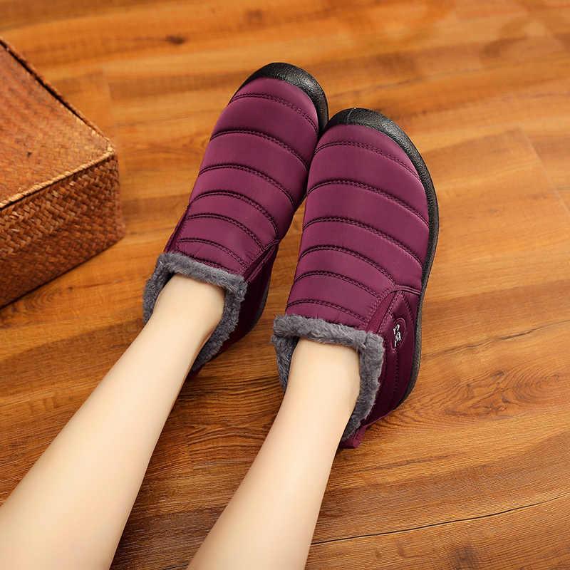 Frauen Stiefel 2019 Mode Frauen Winter Schuhe Warme Schuhe Frau Wasserdichte Winter Stiefeletten Damen Schnee Stiefel Frauen Botas Mujer