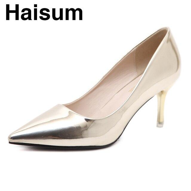 На высоком каблуке Женская обувь на высоком каблуке с мелкой шпильках женская обувь на высоком каблуке с туфлями на шпильке простая рабочая обувь gmc-01
