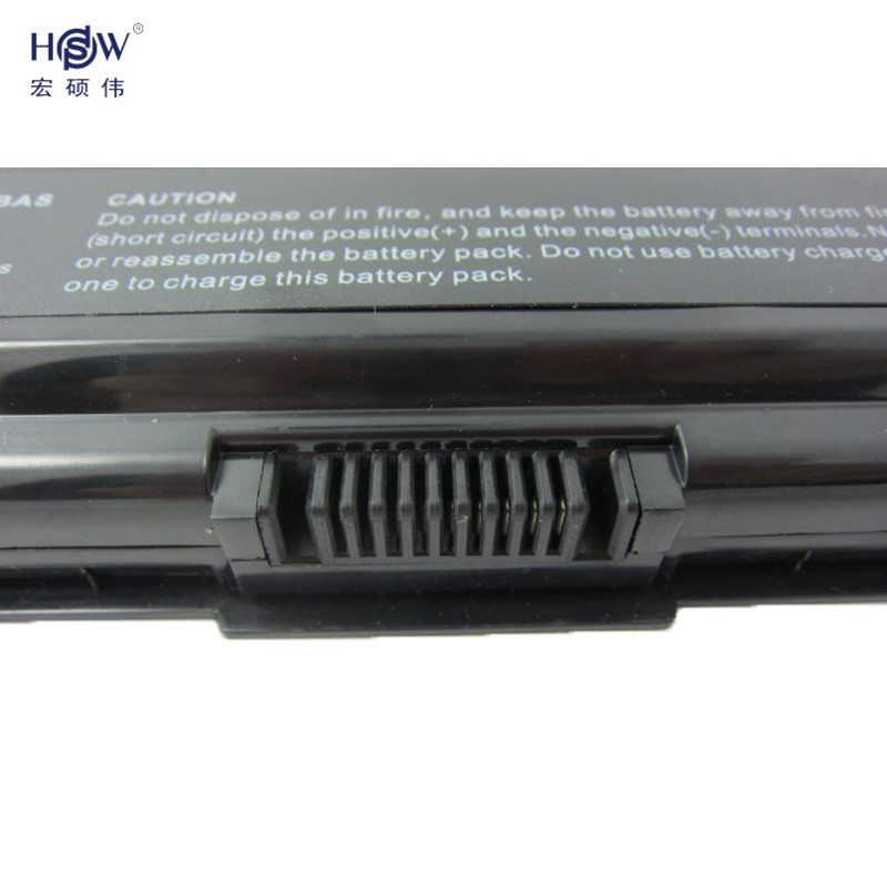 5200MAH laptop battery For Toshiba pa3534 pa3534u PA3534U-1BAS PA3534U-1BRS FOR Satellite A300 A500 L200 L300 L500 L550 L555
