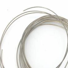 Высокотемпературный серебряный припой диаметр 08 мм чистое серебро