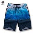 2016 Nova Floral Homens de Secagem Rápida Calções de Praia Calças dos homens Moda Casual Slim Fit Na Altura Do Joelho de Verão Shorts Homens Outwear M-5XL