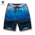 2016 Nuevos Hombres Florales Cortocircuitos de la Playa Pantalones de Secado rápido de Los Hombres Moda Casual Slim Fit Longitud de La Rodilla de Verano de Los Hombres Cortos Outwear M-5XL