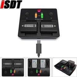 ISDT NP2 All In one Batterie per Foto/Videocamera caricatore Può andare bene per NP-FZ100 NP-FW50 NP-BX1 batteria Per Sony Batterie per Foto/Videocamera carica